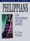 Philippians (eBook): The Fellowship of the Gospel
